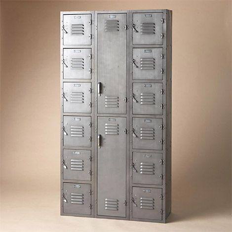 Vintage Steel Lockers Uncrate Vintage Lockers Mud Room Entry Steel Locker