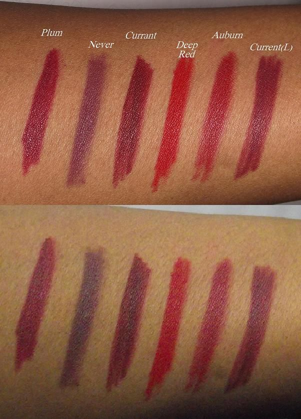 Nyx Lipliner Pencils Swatches Review Nyx Lip Liner Swatches