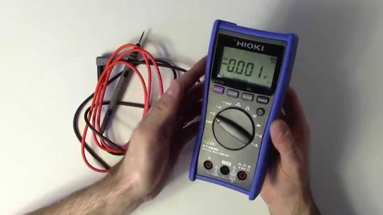 Hioki DT4252 Multimeter Review | Multimeter Reviews