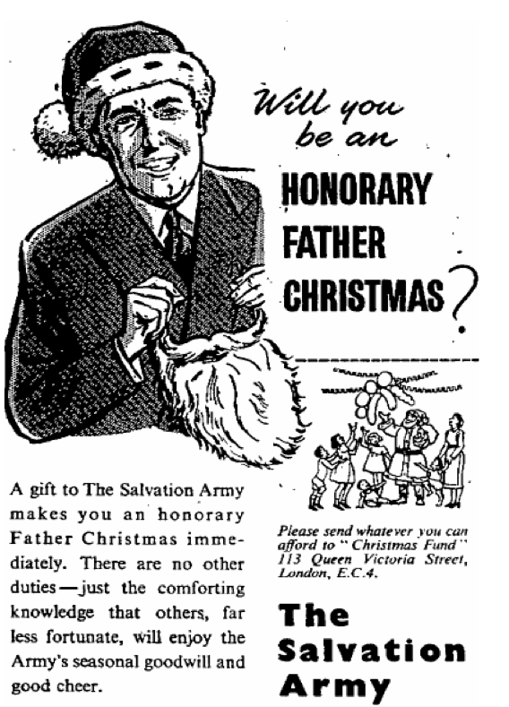 Salvation Army 20 November 1956