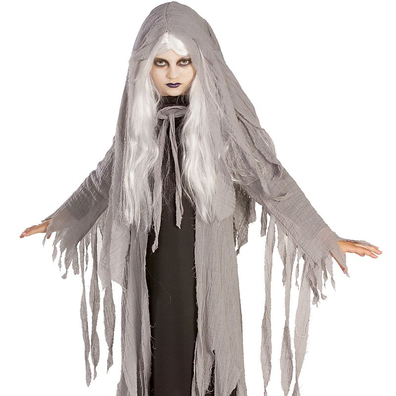 Ghost Costume Kids Girls Halloween Fancy Dress