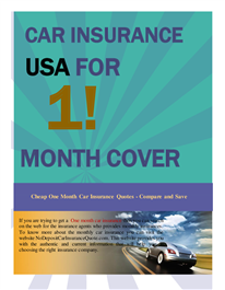 Find Cheap One Month Car Insurance Deals Side By Side Compare 1