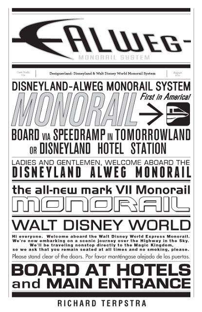 DesignerLand A look at Monorail fonts
