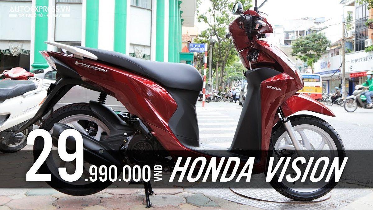 Với Thiết Kế Nhỏ Gọn Tinh Tế Cac Phien Bản Xe Honda Vision đời Trước Thuộc Luon Vao Top Xe Phan Khuc Gia Tầm Trung được Yeu Thich Nhất Gần đay Nhấ