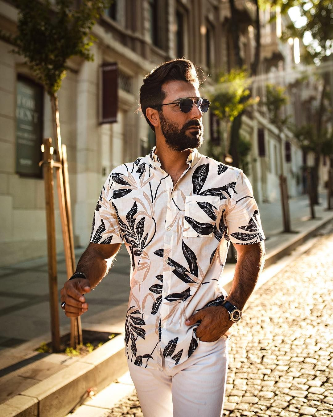 57bf28c3a88 Love this summer outfit and love the photography even more! Photo from   senorkaya  suumerstyle  summeroutfits  shorts  menswear  menstyle   mensfashion ...