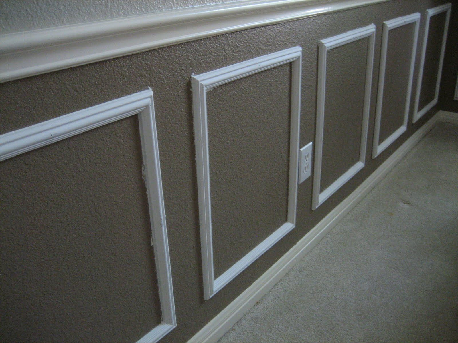 Wainscoting Is Installing Wooden Trim And Panels In A