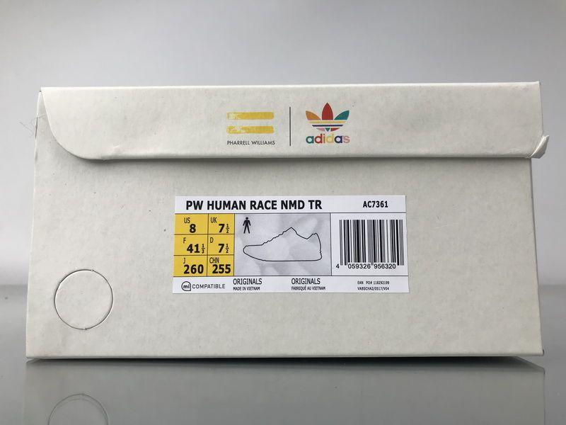 "510b0809b Adidas NMD Human Race Pharrell Williams ""Naked"" Real Boost AC7361 for  Sale 10"