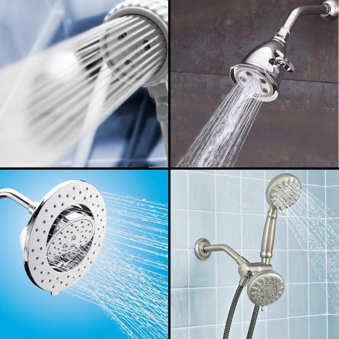 10 Options For Upgrading A Shower Head The Money Pit Shower Heads Fixed Shower Head Handheld Shower Head