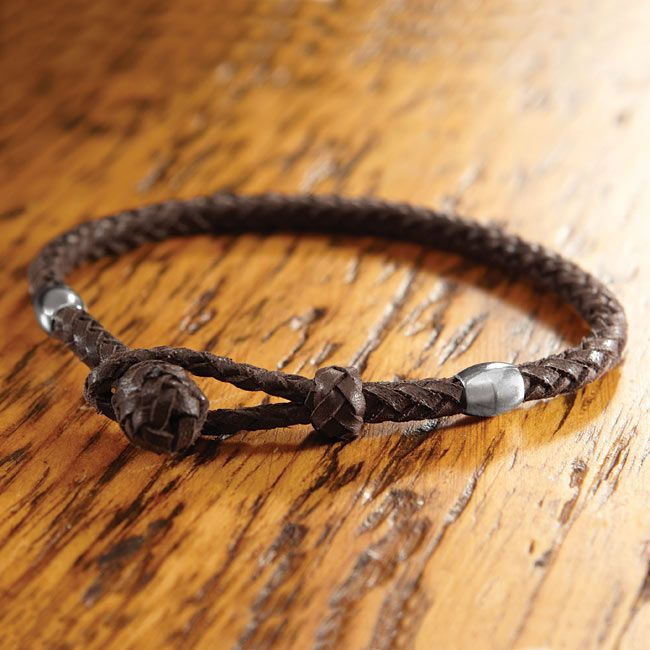 Just Found This Braided Leather Bracelet For Men Braided Leather