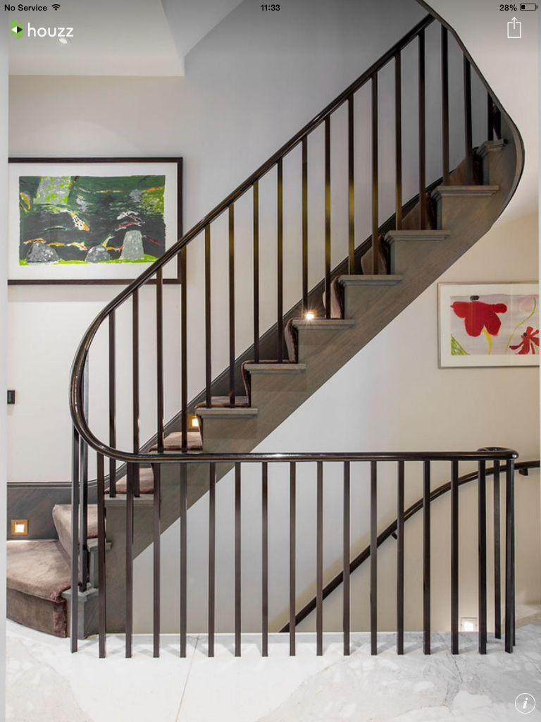 Best Rounder Bars Side Stringer Stairway Design 400 x 300