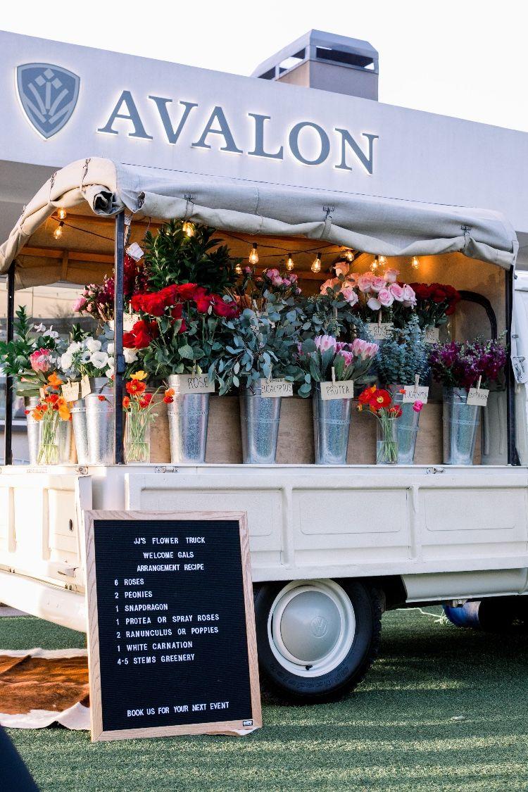 Flower Truck Flower Truck Flower Shop Decor Flower Shop