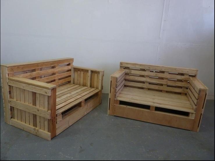 pallet loveseat sofa pallet loveseats pinterest loveseat sofa pallets and pallet projects. Black Bedroom Furniture Sets. Home Design Ideas