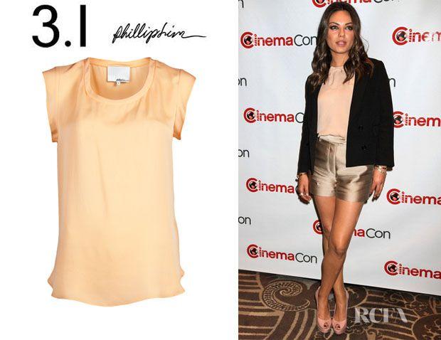 Mila Kunis' 3.1 Phillip Lim Muscle T-Shirt