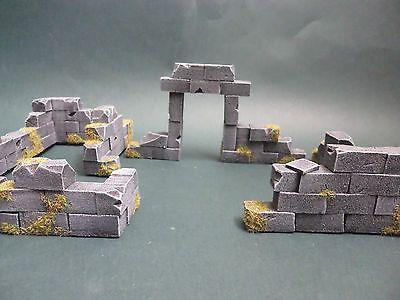 Scenery/Terrain Model Bricks x 60 - Warhammer 40k - Wargame - LoTR