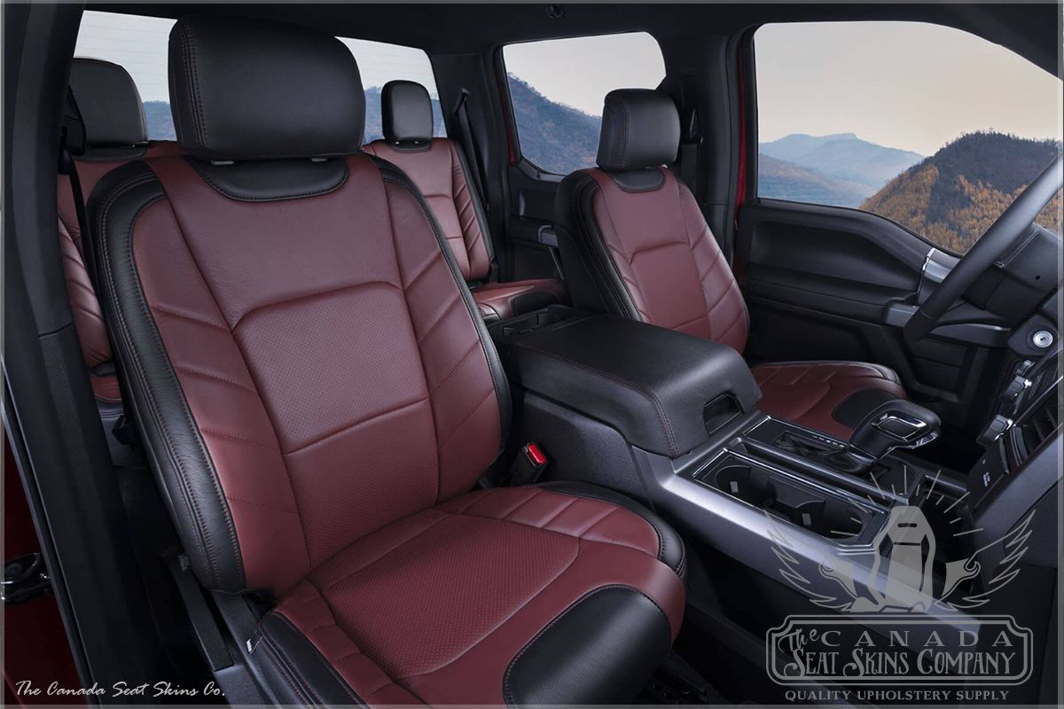 2015 2020 Ford F150 Custom Leather Interiors Limited Edition Ford F150 Truck Seat Covers Ford F150 Custom