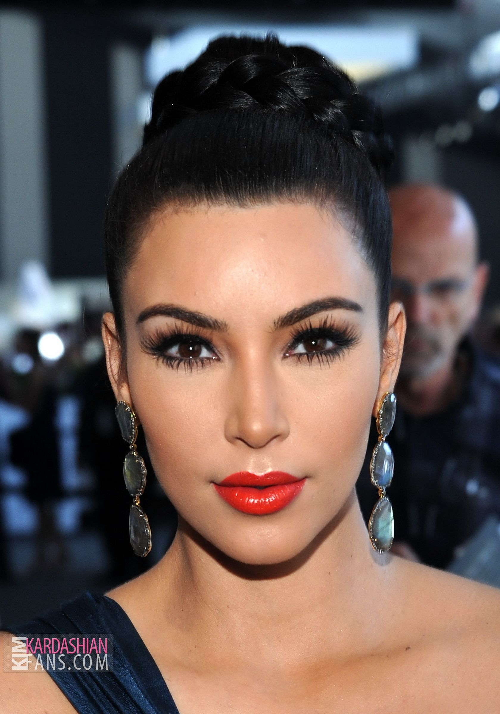 red lips makeup kim kardashian makeup, Makeup