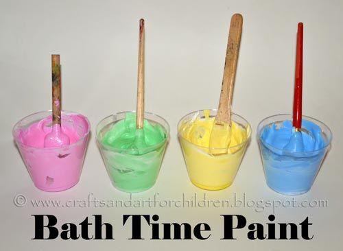 Painting In The Bath Tub Diy Recipe Diy Bath Products Tub