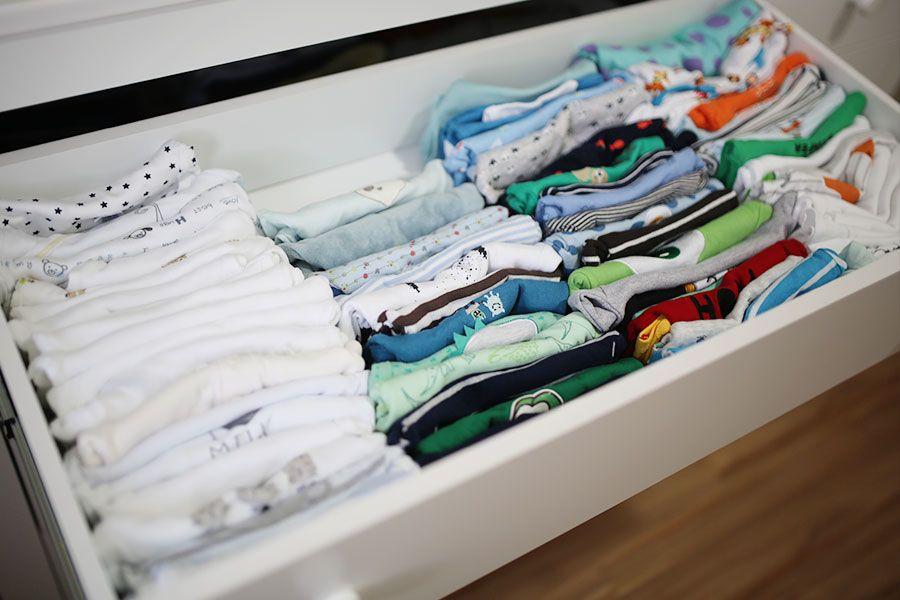 Lavando E Organizando As Roupinhas Do Bebe Roupas Como Dobrar