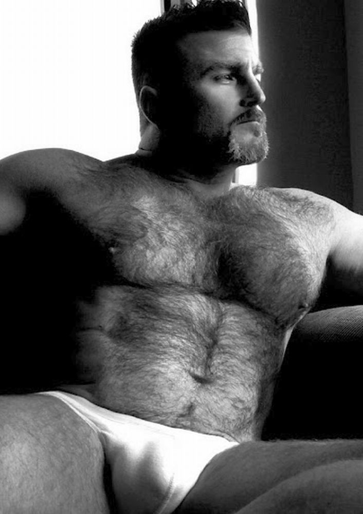Hot hairy hung white men
