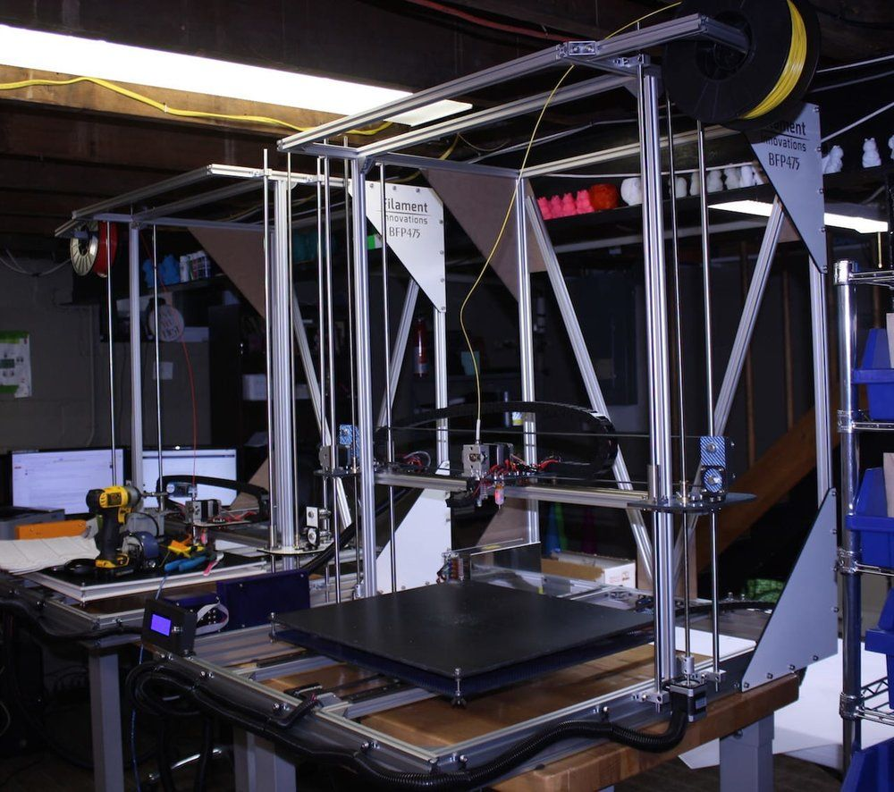 The BP475 Large Format Desktop 3D Printer Made With