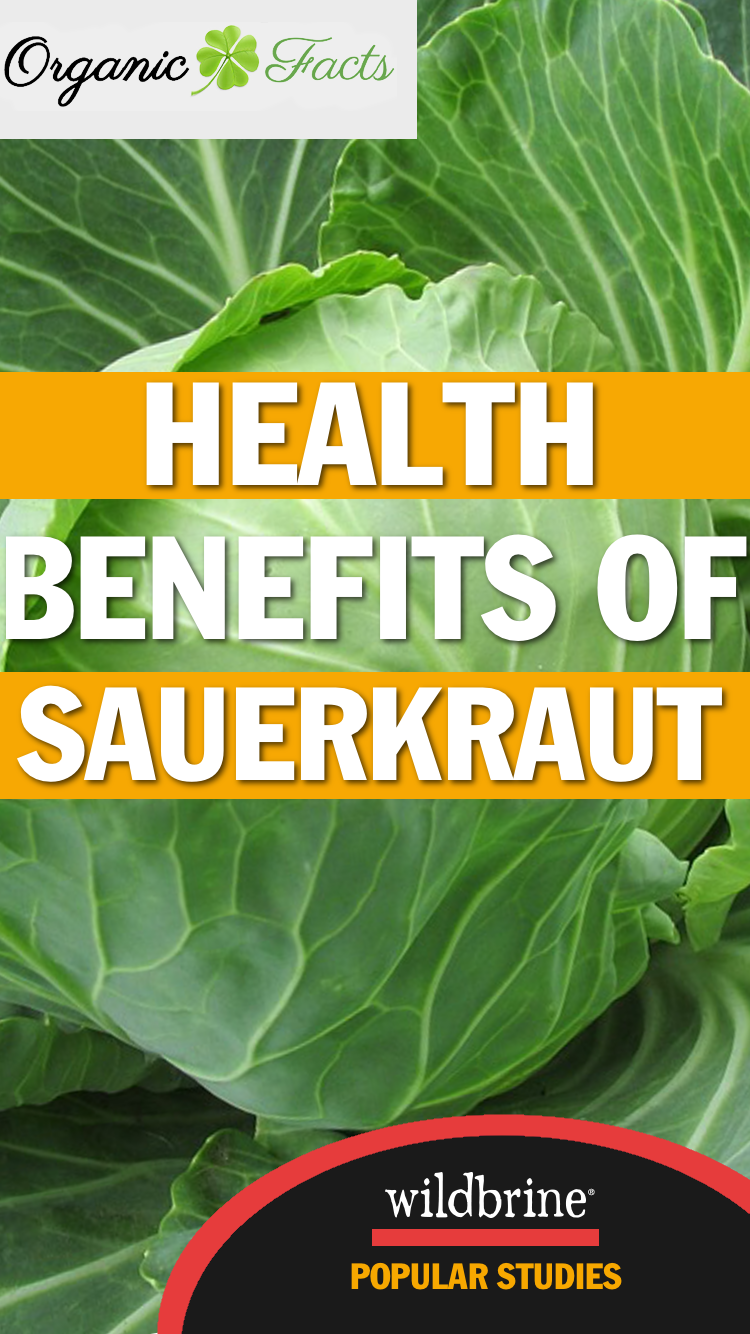 Health Benefits Of Sauerkraut From Organic Facts The Health