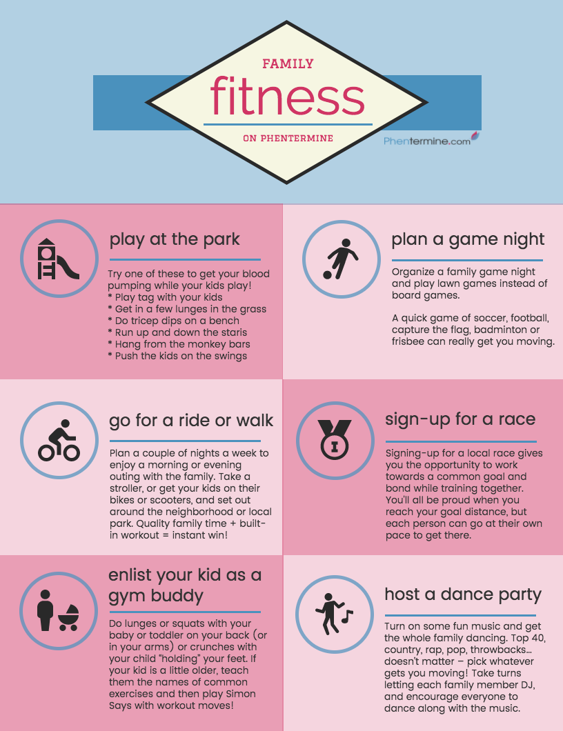 Photo of Family Exercise Ideas for Your Phentermine Jo