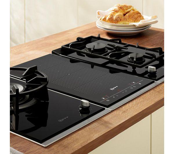 Moderne Küchenutensilien: NEFF N24K30N0 Domino Gas Hob - Black