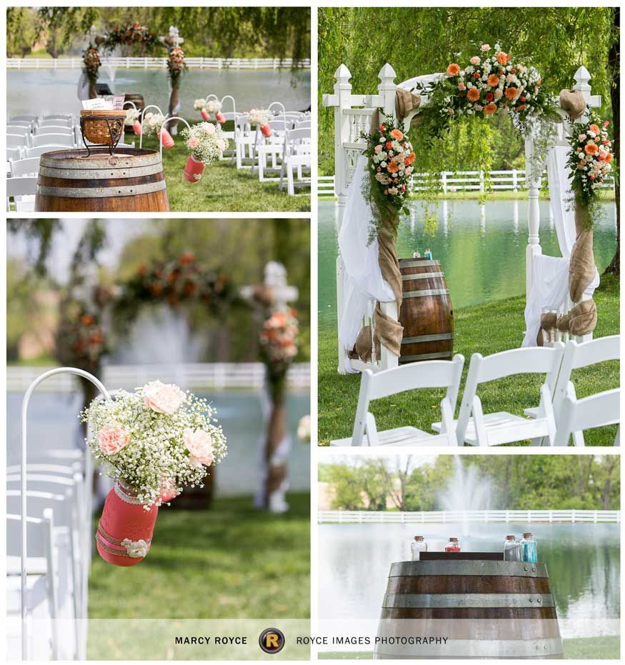 Pond View Farm Wedding At Otremba White Hall
