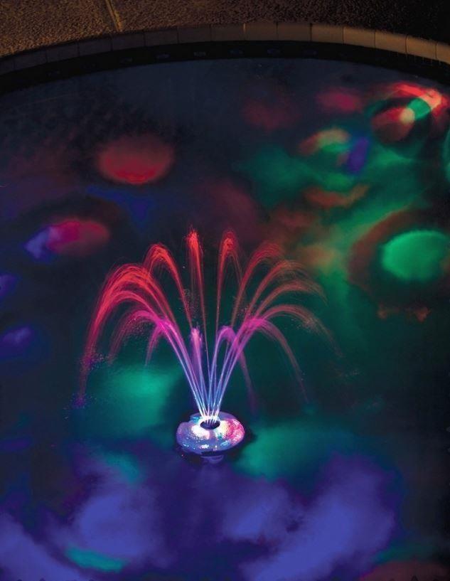 Swimming Pool Underwater Light Show Fountain LED Decor Swim ...