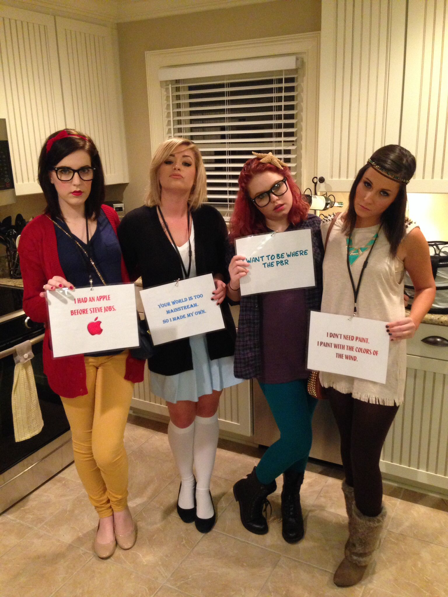 Hipster Disney characters. Snow White Alice Ariel and Pocahontas! #halloween #costume #disney  sc 1 st  Pinterest & Hipster Disney characters. Snow White Alice Ariel and Pocahontas ...