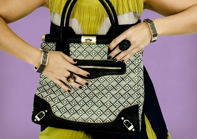 { Style post: BCBG dress. Olivia + Joy bag. }