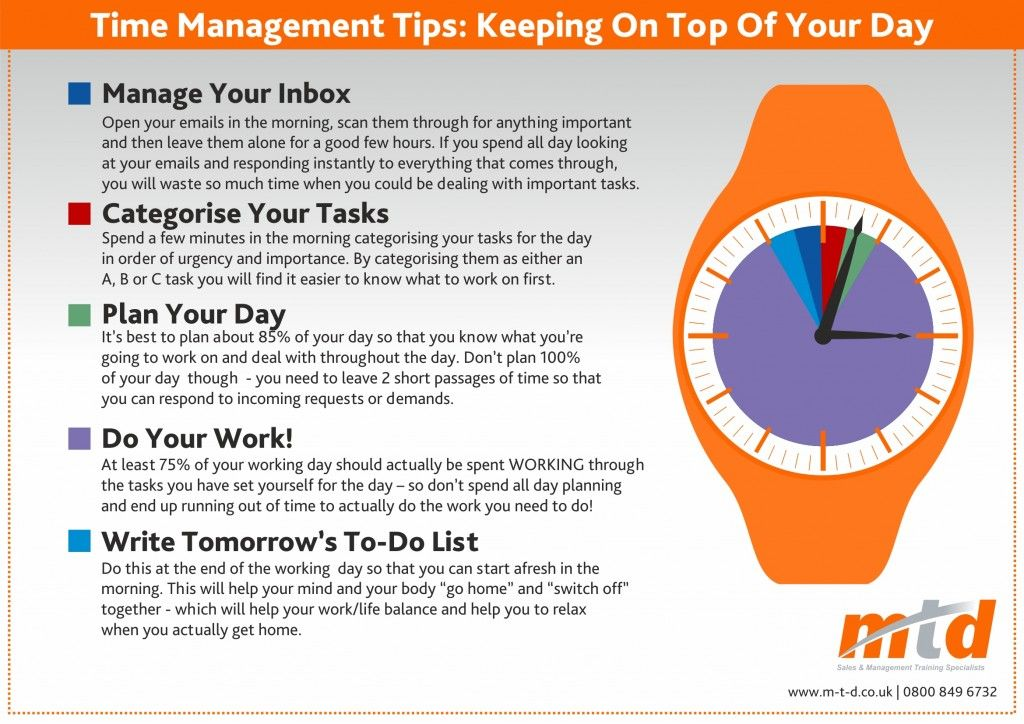 Time Management Tips Infographic Time Management Tips Time