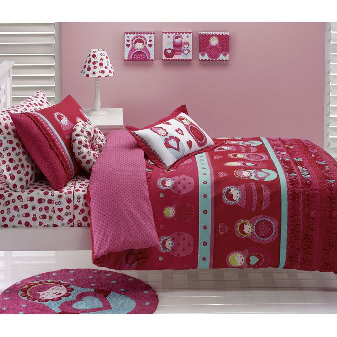 pilbeam textiles babushka duvet cover the sleep store new zealand kids and teen bedding. Black Bedroom Furniture Sets. Home Design Ideas
