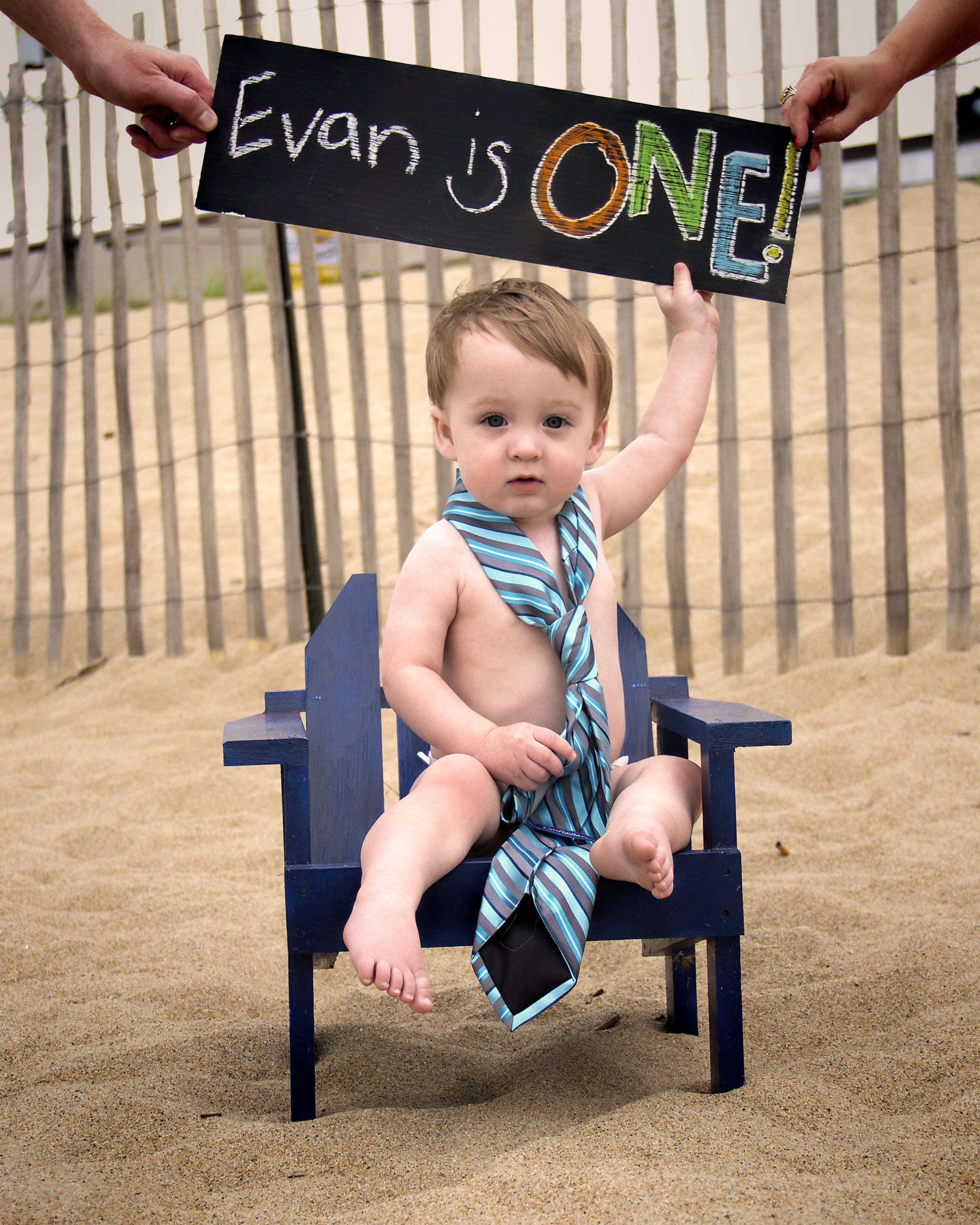 One year old boy photo session idea one year old at the beach