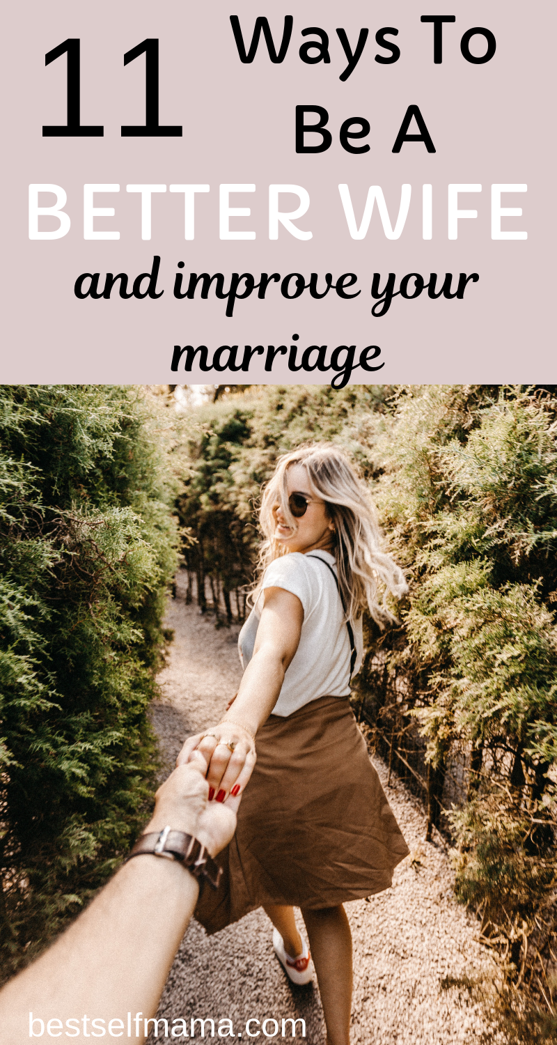 Looking for advice on how to be a better wife? While there may be no quick fixes or special secrets, here are some things you can start doing today! #marriage #familylife