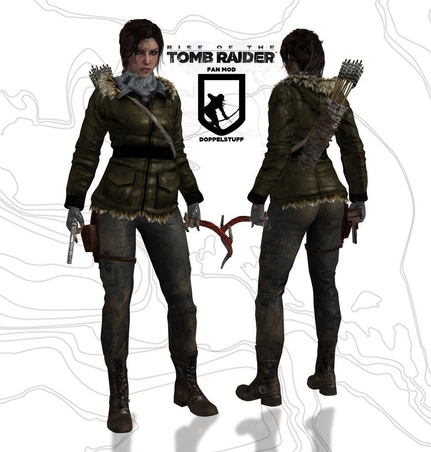 Rise Of The Tomb Raider Lara Fan Mod By Doppelstuff Met