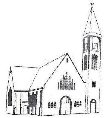 Tekening kerk