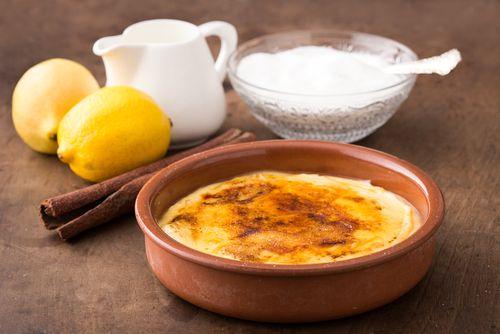Crema catalana con caramelo