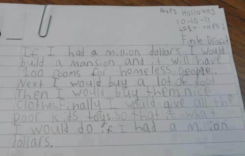 if i had a million dollars essay somebody please give him that  if i had a million dollars essay somebody please give him that money <3