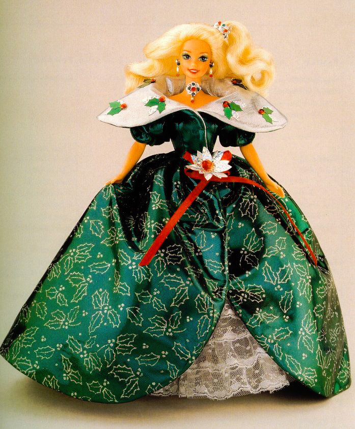 Happy Holiday Barbie 1995 14123 Special Edition Mint NO BOX