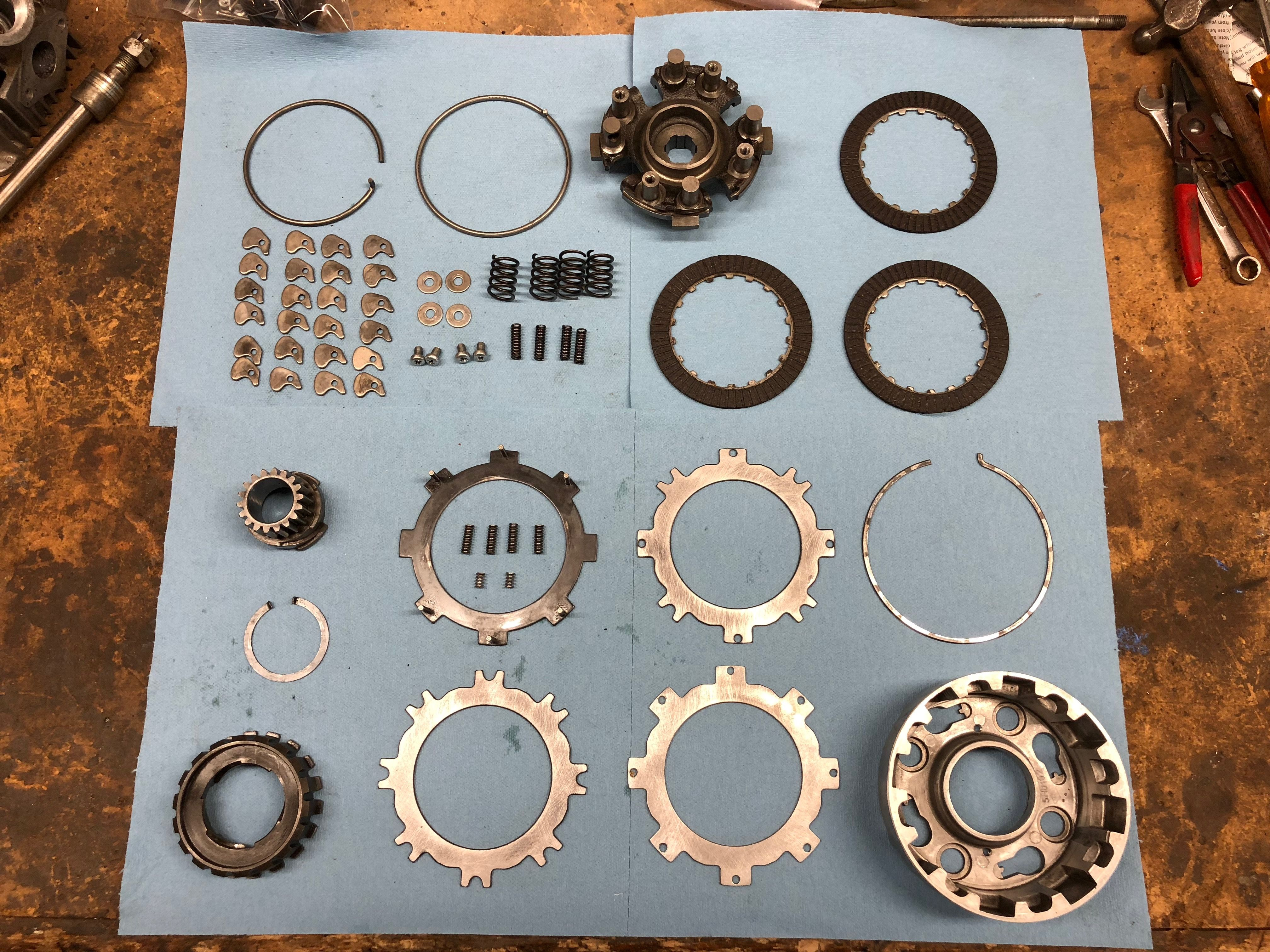 At the attached link I made a post about how to rebuild a Honda CT90
