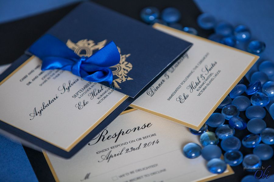 17 Best images about African Wedding Invitations – Wedding Invitation Cards in Nigeria
