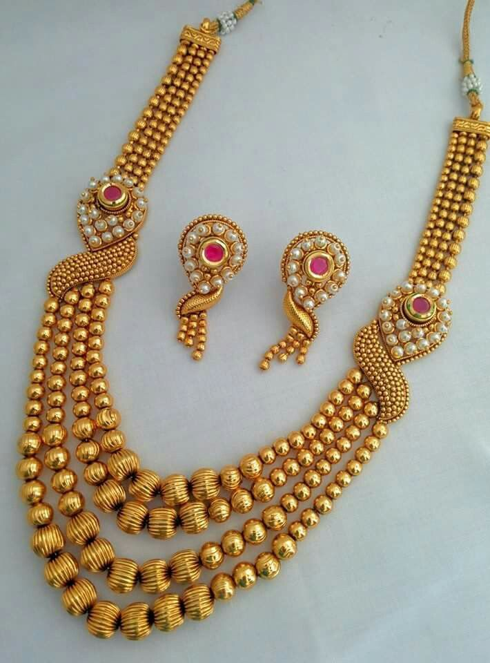 Artificial Jewelry | gold jewellery | Pinterest | Indian jewelry ...