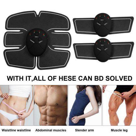 6a012b87deaeb Waist Trimmer Muscle Toner Abdominal Toning Belt Smart Fitness Body Gym  Workout  musclefitness