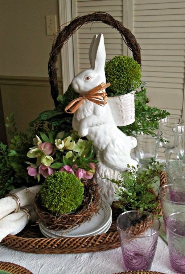 45 Simple Easter Decorations Ideas To Try This Time Easter Tablescapes Spring Easter Decor Easter Centerpieces