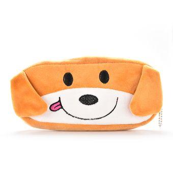 Amango Cute Pencil Case Soft Plush Intl