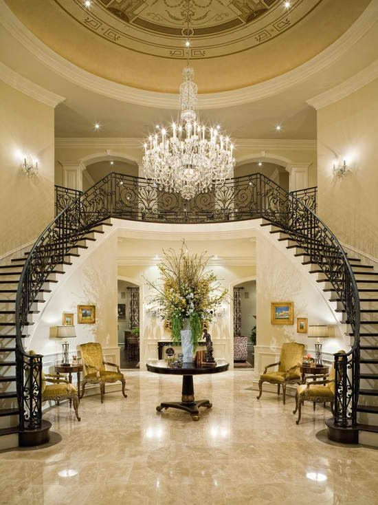 Best Dream House With Double Staircase Double Staircase 400 x 300