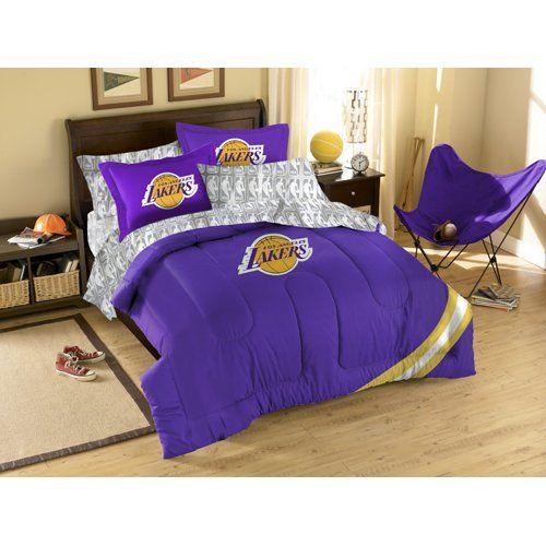Nba Los Angeles Lakers Bedding Set Full Comforter Sets Full
