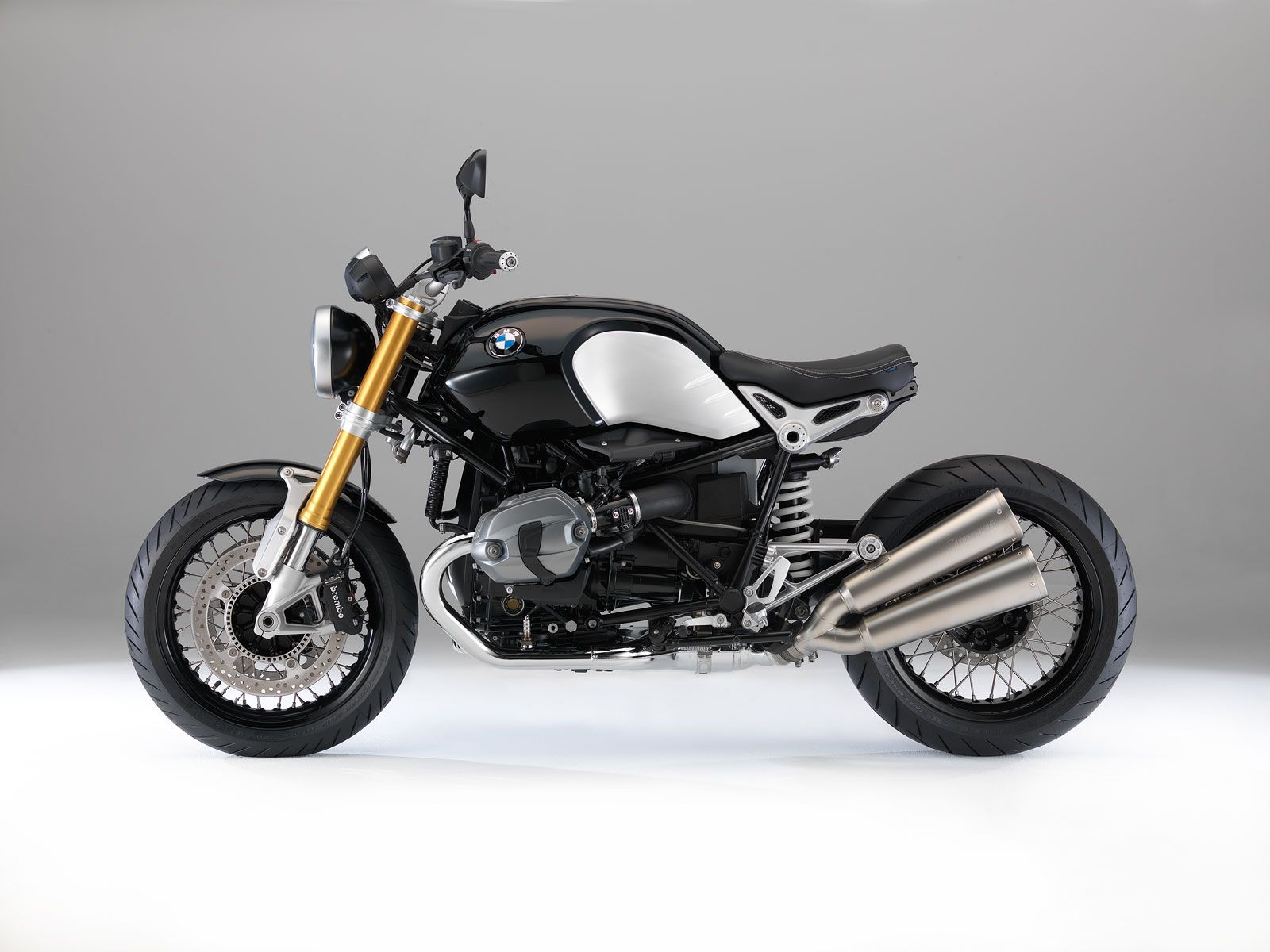 Bmw R Ninet Transport Bike Black Motocicletas Bmw Bmw Motos