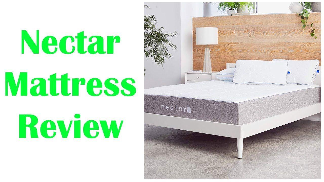 Nectar Queen Mattress 2 Pillows Included Gel Memory Foam